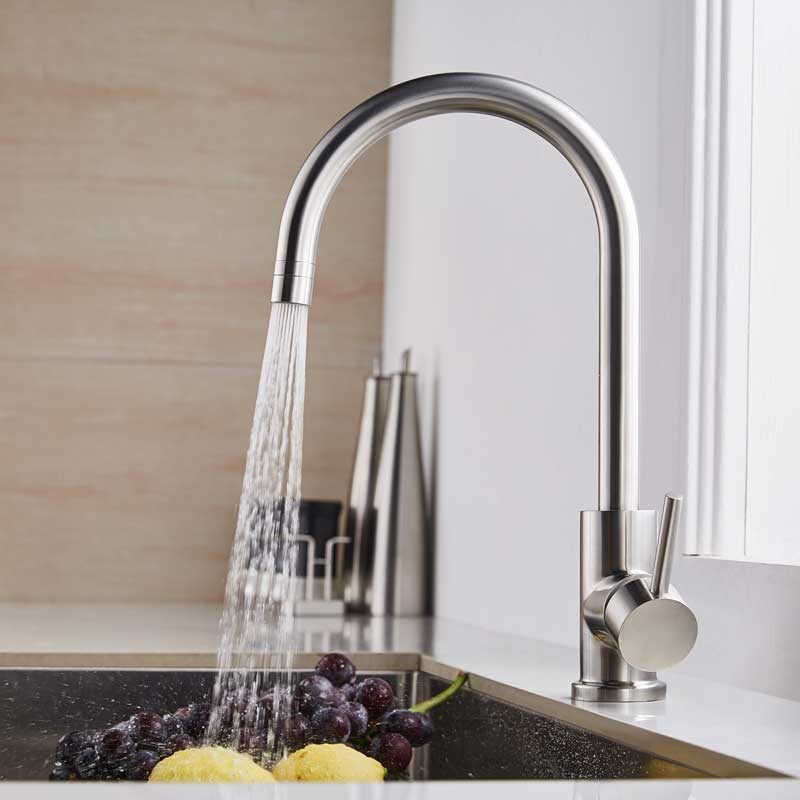 outdoor kitchen faucet with sprayer