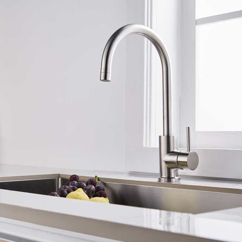 cheap kitchen faucet with spayer