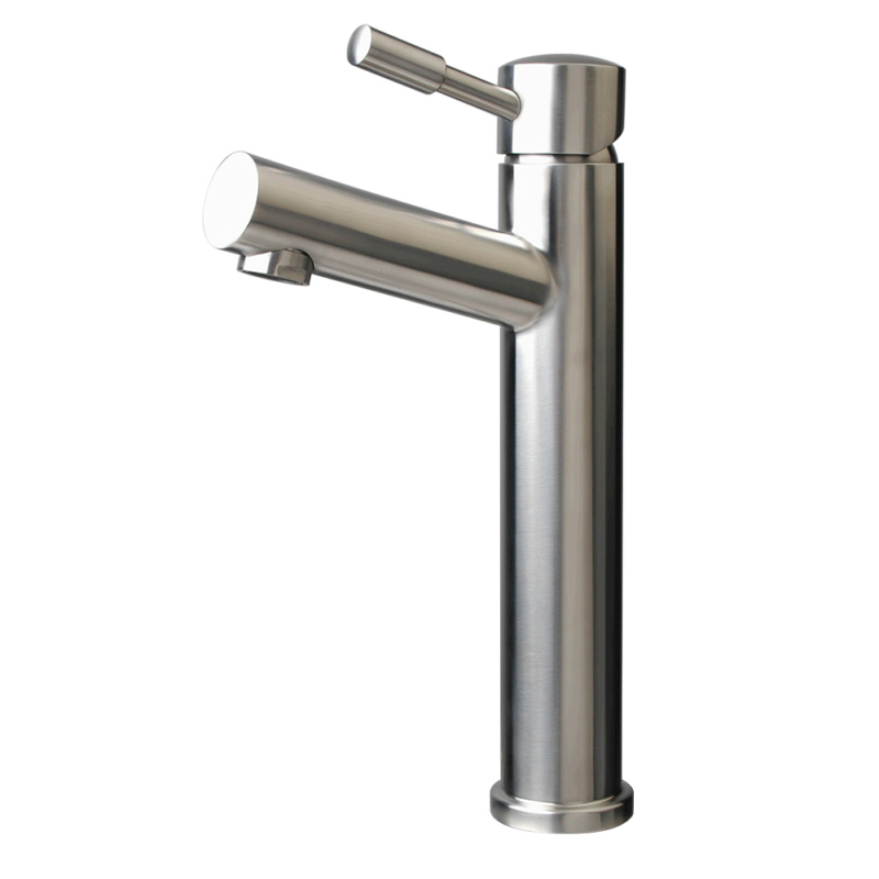 Stainless steel high quality vessel faucet