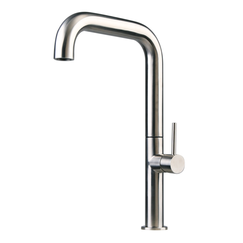 Stainless steel Italian kitchen faucet