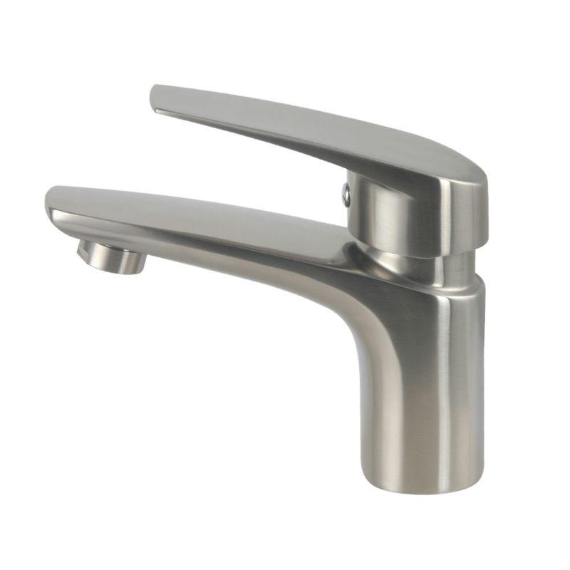 stainless steel bathroom sink faucet
