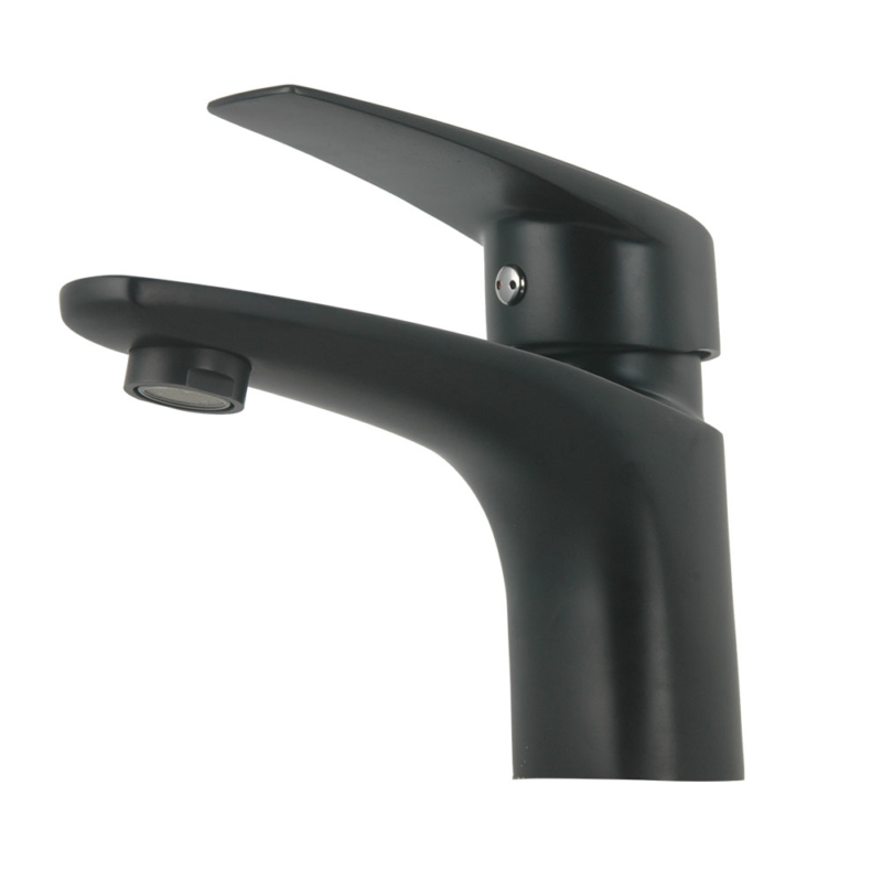 matte black bathroom sink faucet