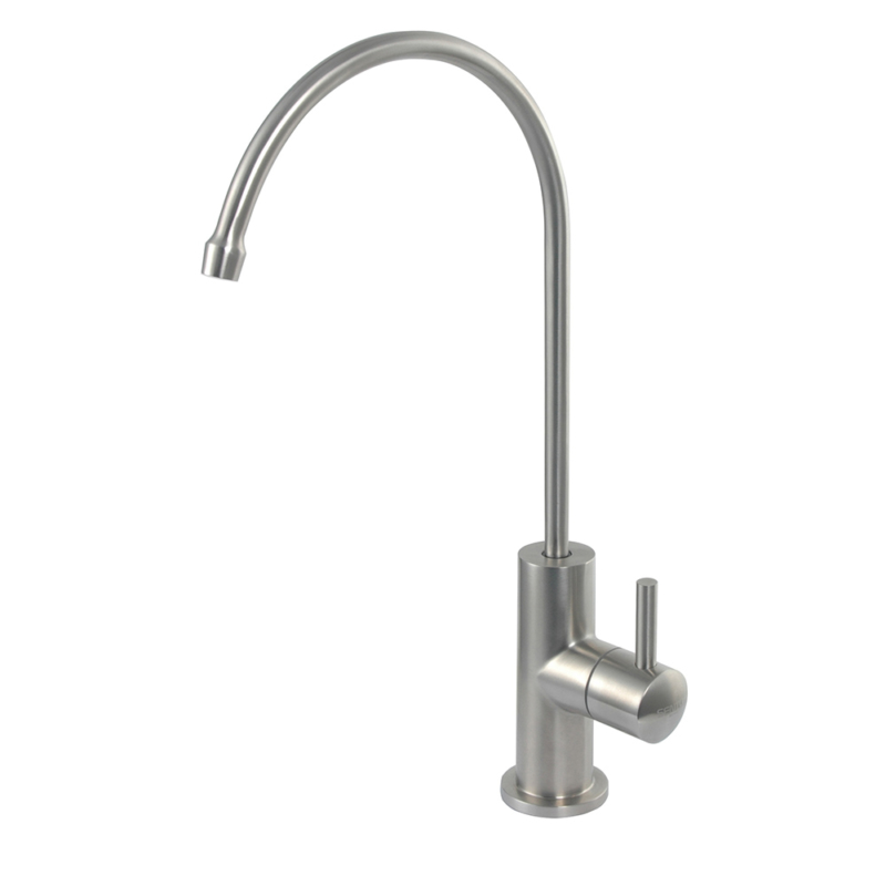 Stainless steel drinking water tap
