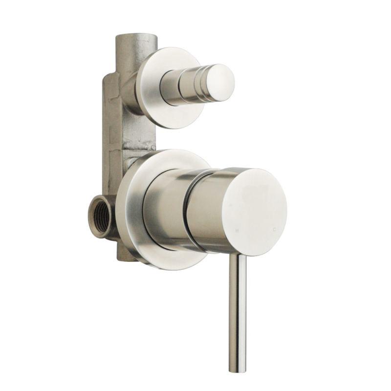 wall mount 2 way shower diverter valve