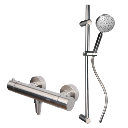 high end thermostatic shower mixer tap