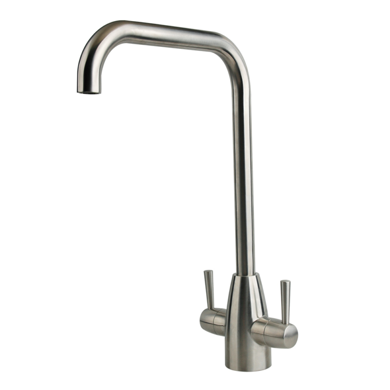 Best two handle kitchen faucet,Brushed stainless steel