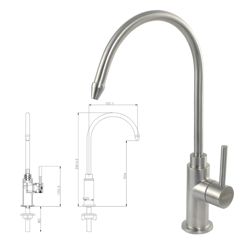 cold water filter tap,stainless steel