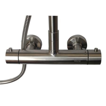 stainless steel anti scald shower valve