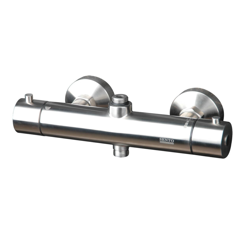 316L Stainless steel thermostatic outdoor shower