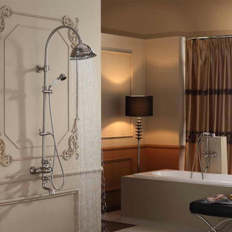 high end antique shower faucet