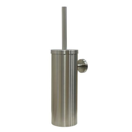 best toilet brush and holder, brushed Stainless steel