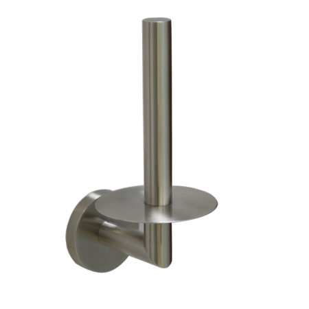 stainless steel vertical toilet paper holder