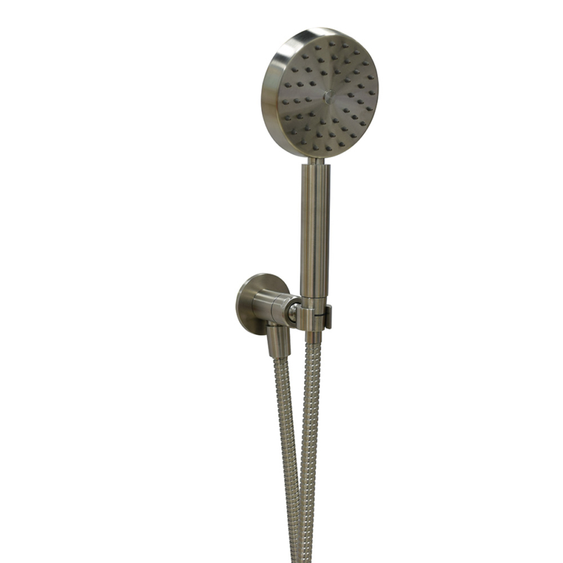 metal shower head holder