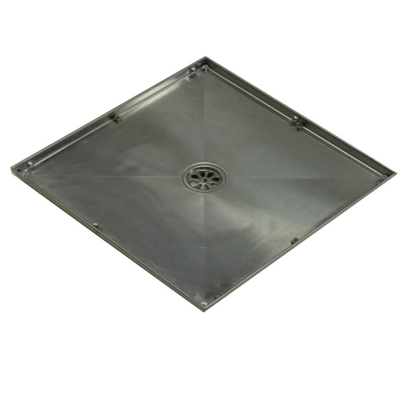 square tile drain