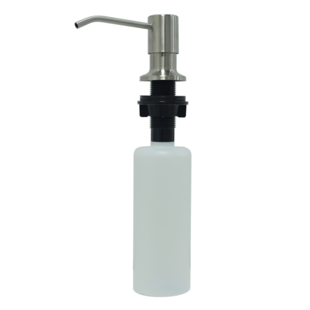 plastic soap dispenser