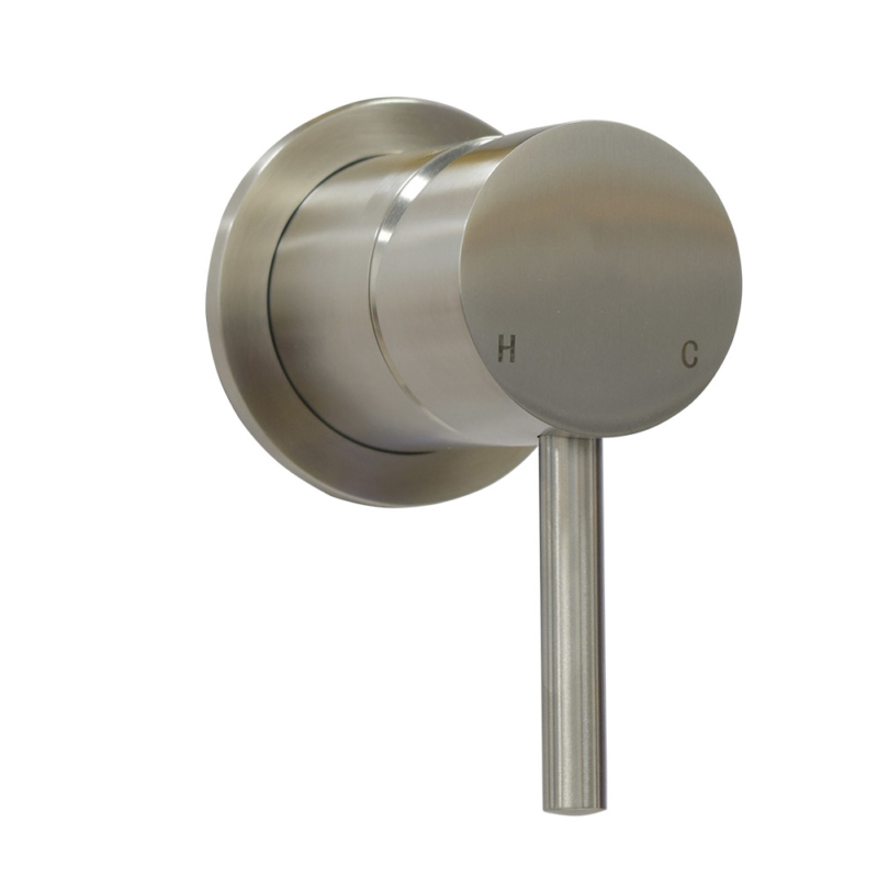 One way shower valve