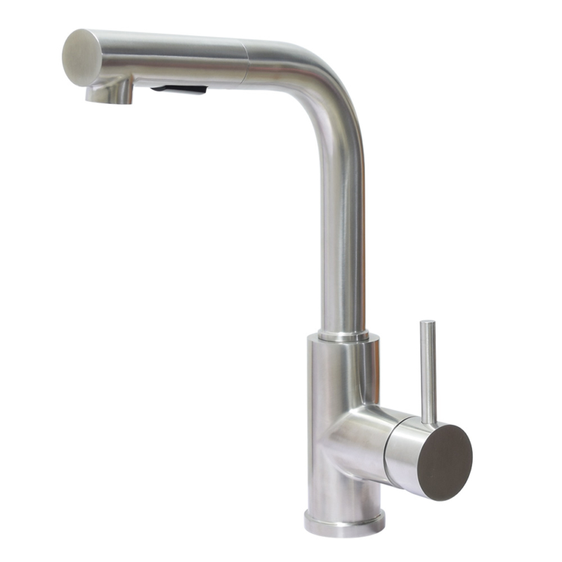 stainless steel pull out spray tap
