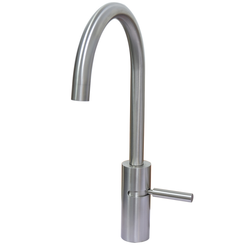rotary handle kitchen faucet
