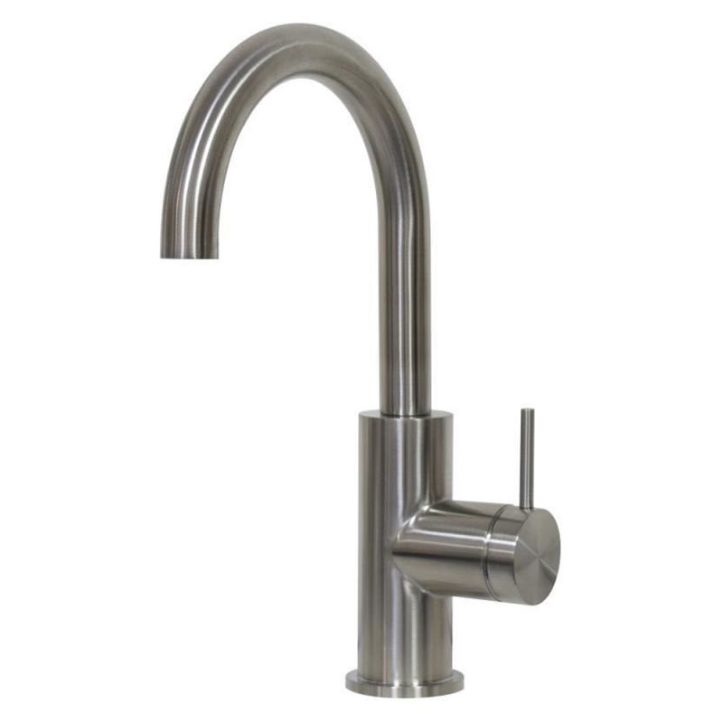 316 stainless steel vessel mixer with swivel spout