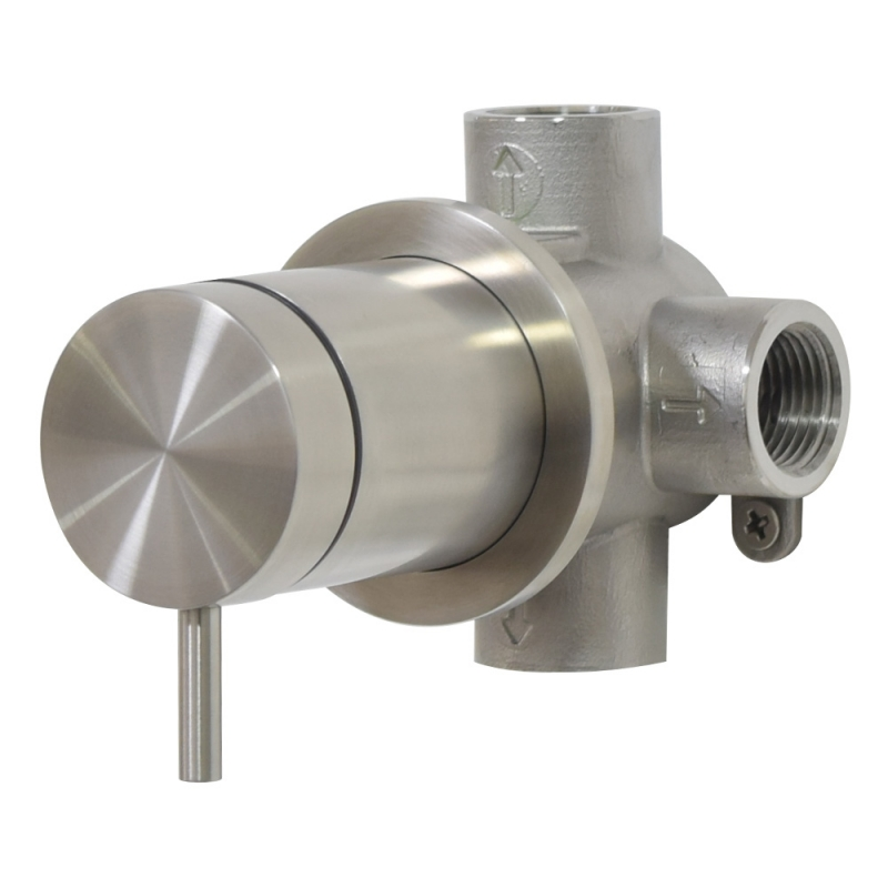 stainless steel shower mixer
